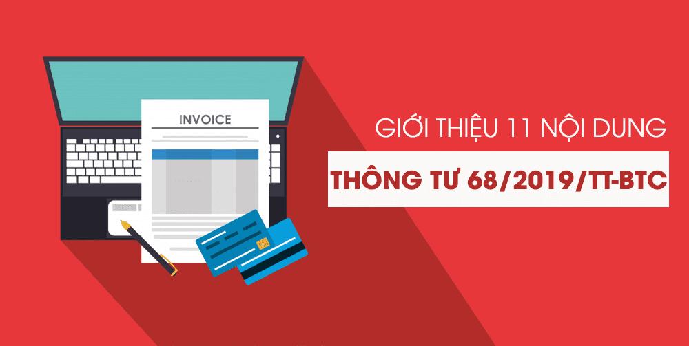 Công văn 4178/TCT-CS giới thiệu một số nội dung của Thông tư 68/2019/TT-BTC